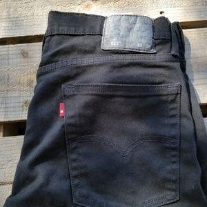 Levi 33x30 Mens 513 Jeans